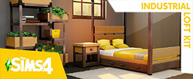 The Sims™ 4 Industrial Loft Kit