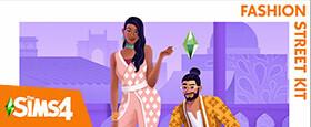 The Sims™ 4 Fashion Street Kit