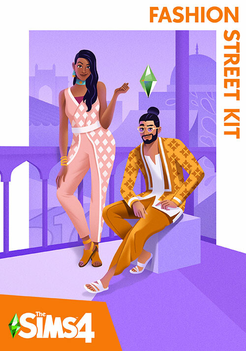 The Sims™ 4 Fashion Street Kit - Cover / Packshot