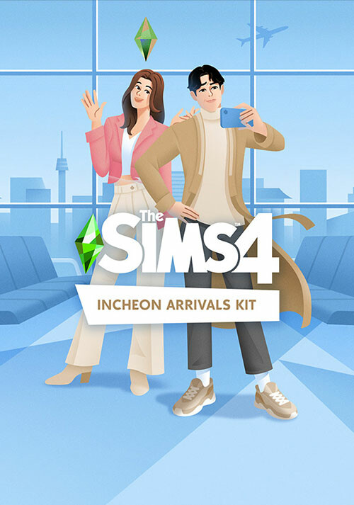 The Sims™ 4 Incheon Arrivals Kit - Cover / Packshot