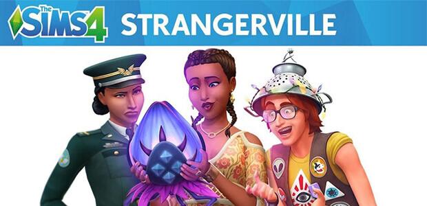 The Sims™ 4 StrangerVille - Cover / Packshot