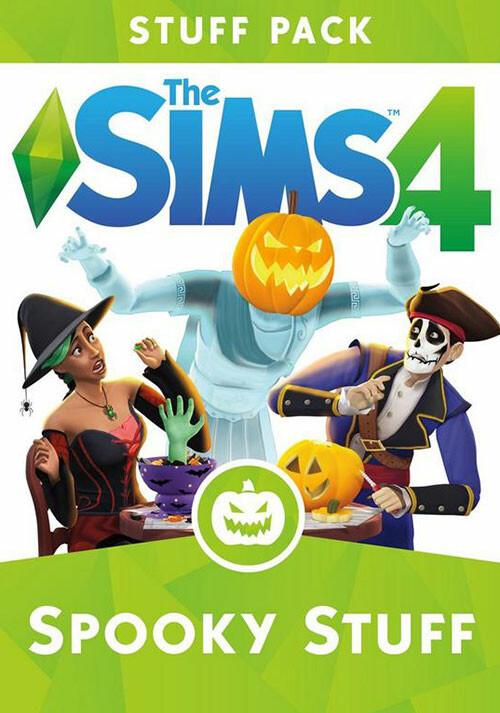 Les Sims™ 4 Kit d'Objets Accessoires Effrayants - Cover / Packshot