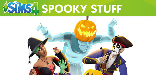 The Sims™ 4 Spooky Stuff Pack - Cover / Packshot