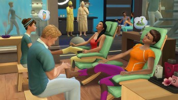 Screenshot1 - Die Sims™ 4 Wellness-Tag