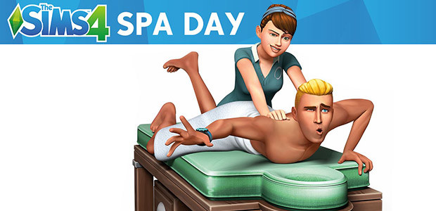 The Sims™ 4 Spa Day Game Pack - Cover / Packshot