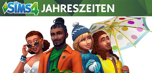 Die Sims™ 4 Jahreszeiten - Cover / Packshot