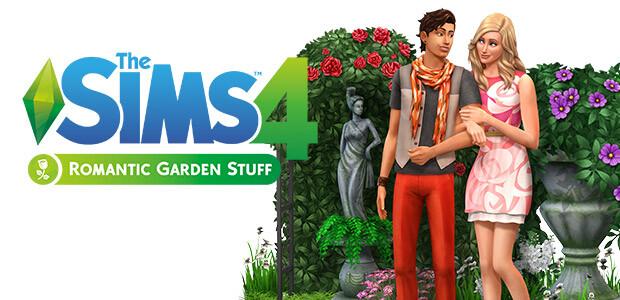 Les Sims™ 4 Kit d'Objets Jardin Romantique - Cover / Packshot