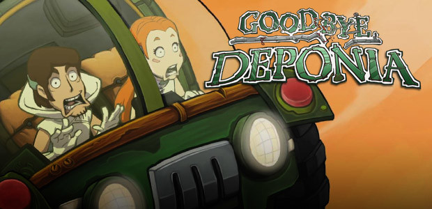 Goodbye Deponia - Cover / Packshot