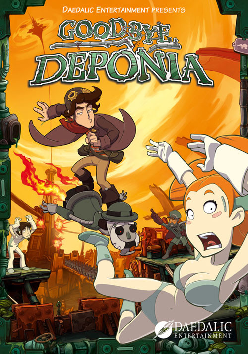 Goodbye Deponia - Cover