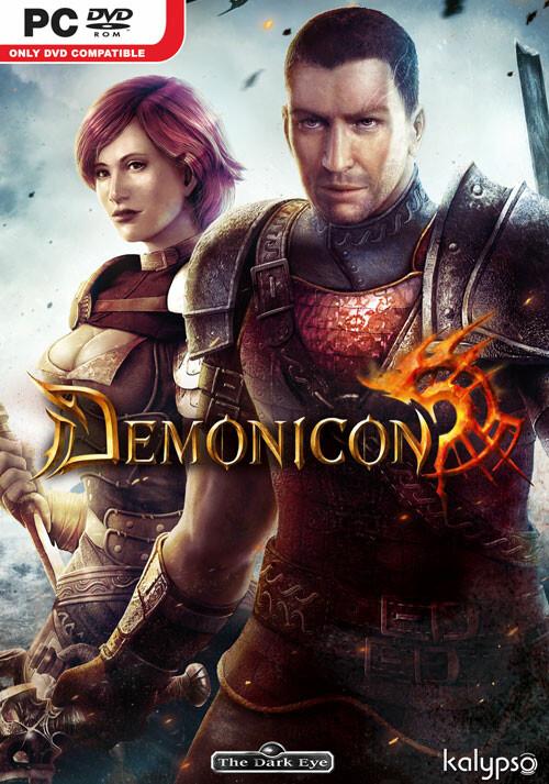 The Dark Eye - Demonicon - Cover / Packshot