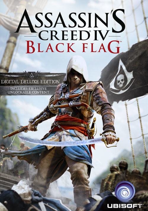 Assassin's Creed IV Black Flag - Deluxe Edition - Cover