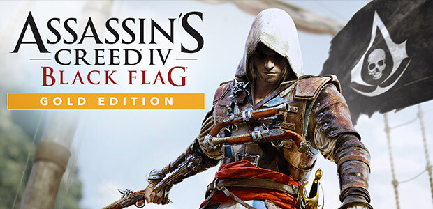 Assassin's Creed IV Black Flag - Gold Edition - Cover / Packshot