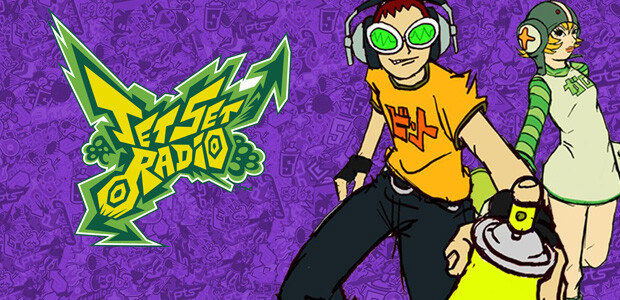 Jet Set Radio - Cover / Packshot