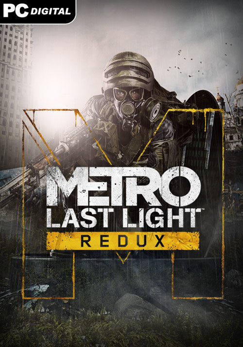 Metro: Last Light Redux - Cover