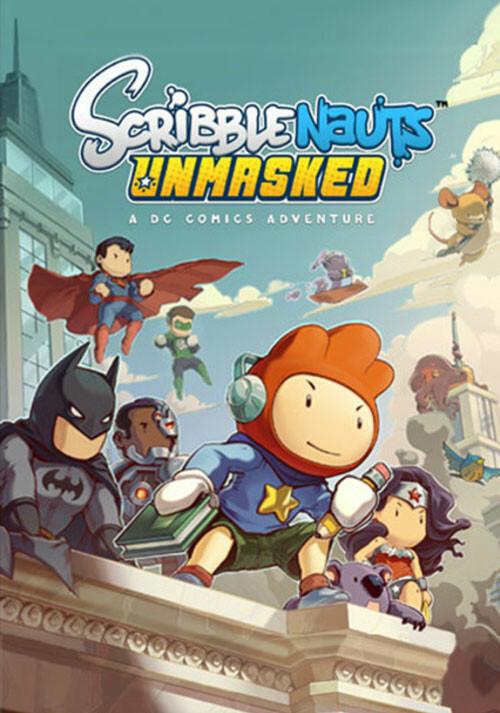 Scribblenauts Unmasked: A DC Comics Adventure - Cover / Packshot