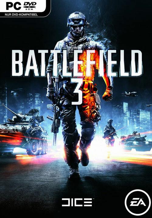 Battlefield 3 - Cover / Packshot