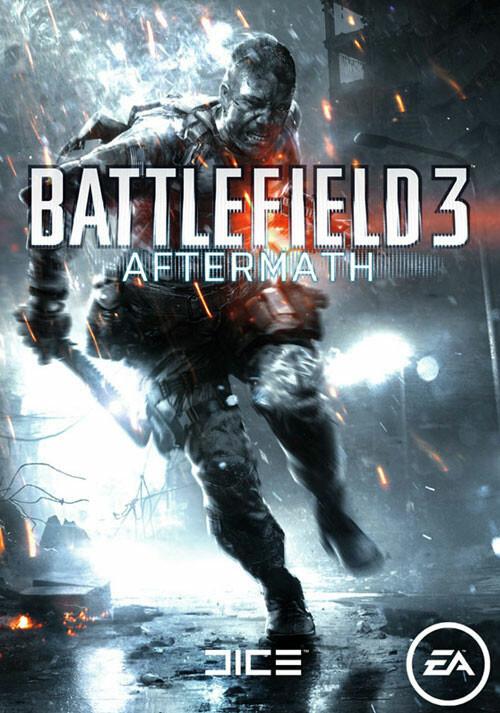 Battlefield 3: Aftermath DLC - Cover / Packshot