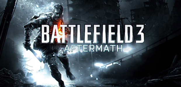 Battlefield 3: Aftermath DLC - Cover / Packshot