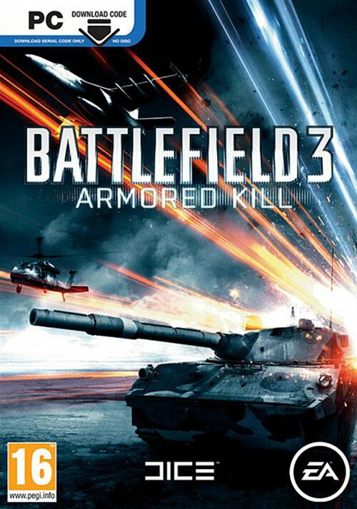Battlefield 3: Armored Kill DLC - Cover / Packshot