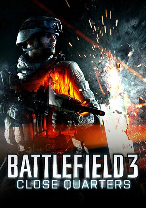 Battlefield 3: Close Quarters DLC - Cover / Packshot