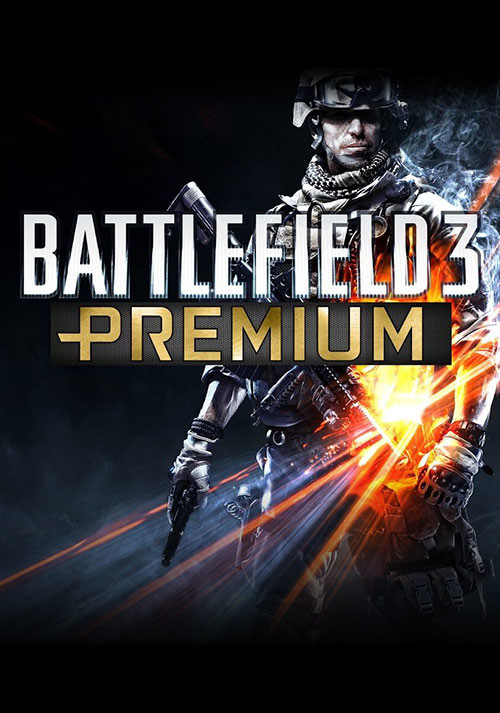 Battlefield 3 Premium Service - Cover / Packshot