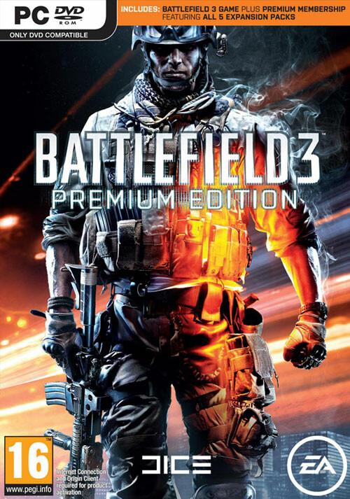 Battlefield 3: Premium Edition - Packshot
