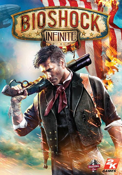 Bioshock Infinite (Mac) - Cover / Packshot