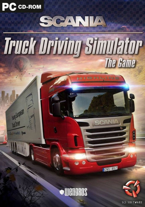 Scania Truck Driving Simulator - Cover / Packshot