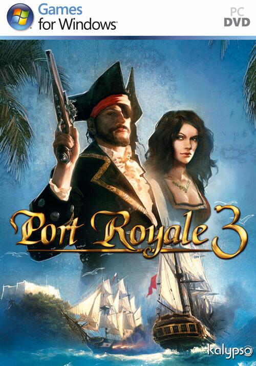Port Royale 3 - Cover / Packshot