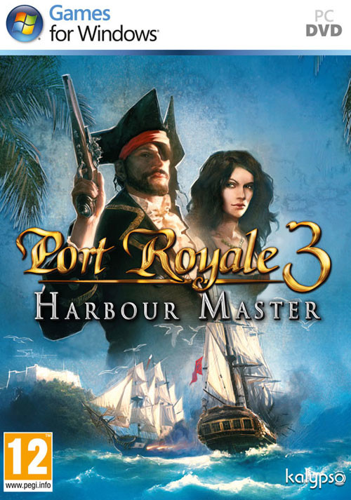 Port Royale 3: Harbour Master DLC - Cover / Packshot