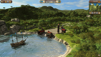 Screenshot1 - Port Royale 3: Dawn of Pirates DLC