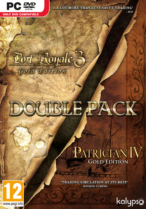 Port Royale 3: Gold & Patrician IV: Gold - Double Pack - Cover / Packshot