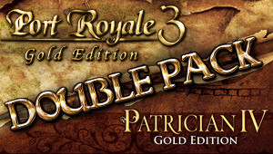 Port Royale 3: Gold & Patrician IV: Gold - Double Pack