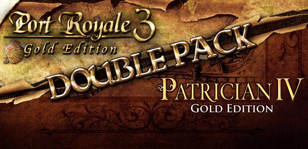 Port Royale 3: Gold & Patrician IV: Gold - Double Pack - Cover / Packshot