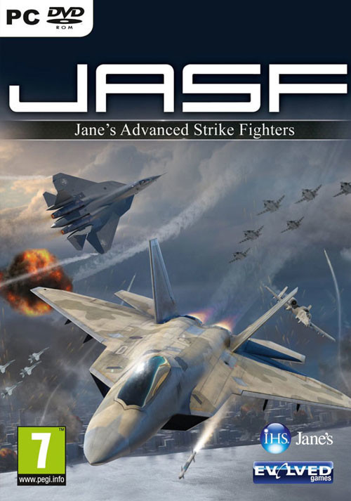 Jane's Advanced Strike Fighters - Cover