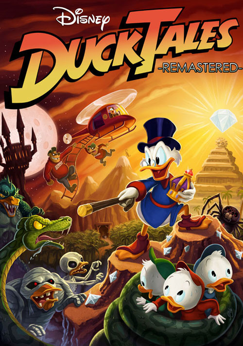 Ducktales Remastered - Cover