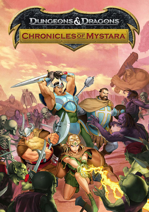 Dungeons & Dragons: Chronicles of Mystara - Cover