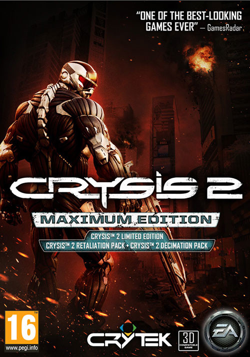 Crysis 2: Maximum Edition - Cover