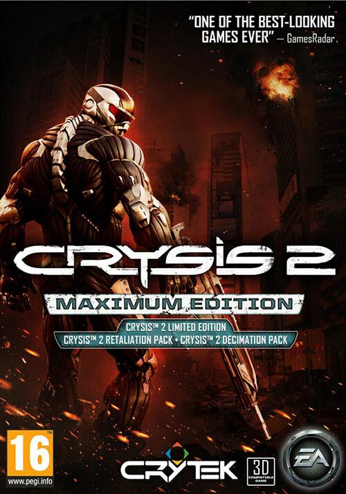Crysis 2: Maximum Edition - Cover / Packshot