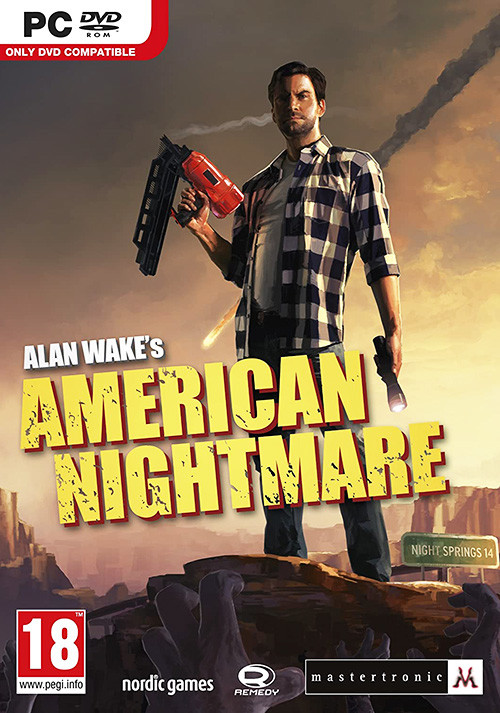 Alan Wake's American Nightmare - Cover