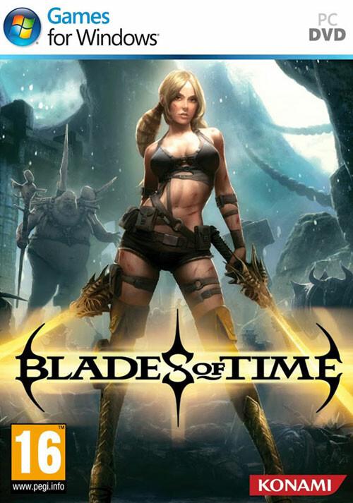 Blades Of Time - Cover / Packshot