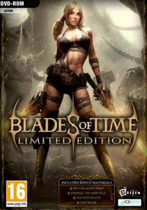 Blades Of Time - Limited Edition - Cover / Packshot