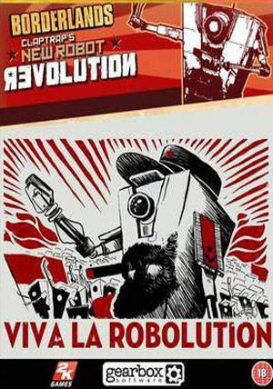 Borderlands: Claptrap's New Robot Revolution DLC - Cover