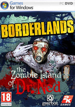 Borderlands: Zombie Island of Dr. Ned DLC - Cover