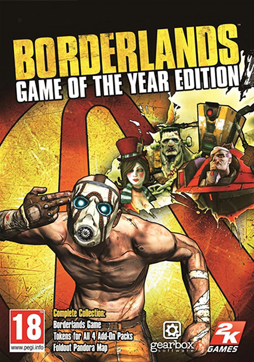 Borderlands: Game of the Year Edition - Cover