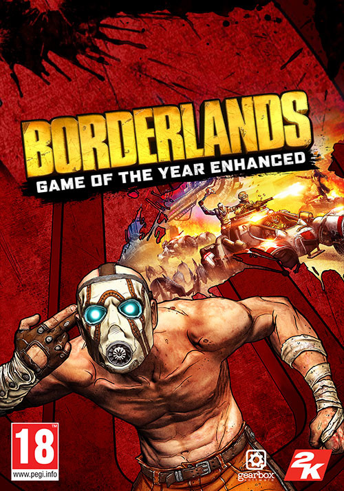 Borderlands Game of the Year Enhanced - Cover