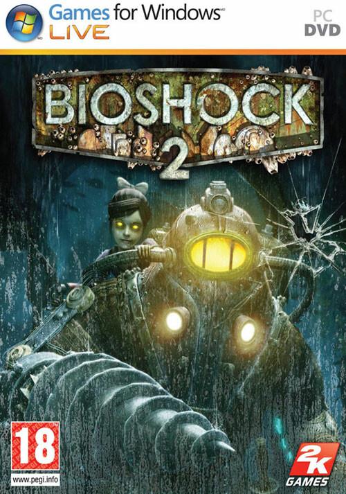 BioShock 2 - Cover