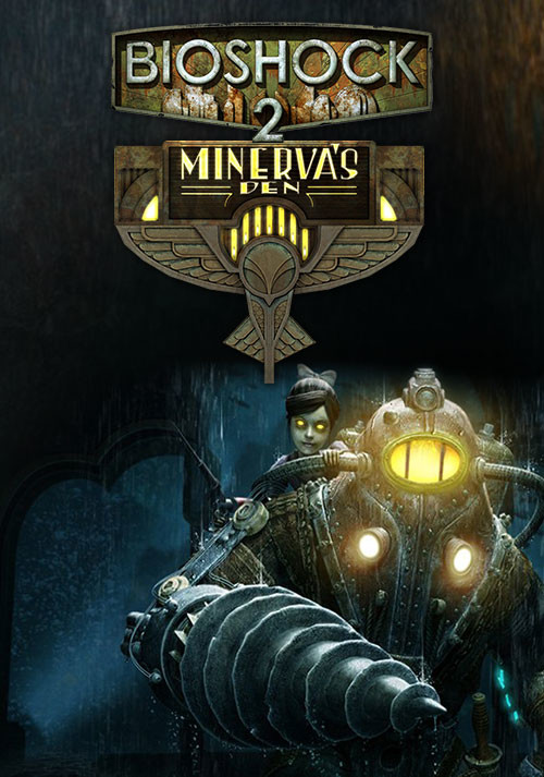 BioShock 2: Minerva's Den - Cover / Packshot