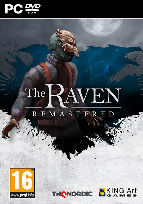 The Raven Remastered - Cover