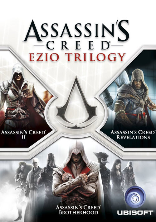 Assassin's Creed Ezio Trilogie - Packshot